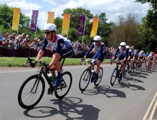 One year on from the Olympics world class cyclists will once again be on the roads of Surrey