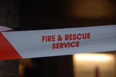 Surrey Fire and Rescue Service tape