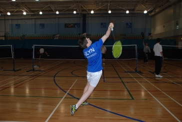 School games badminton