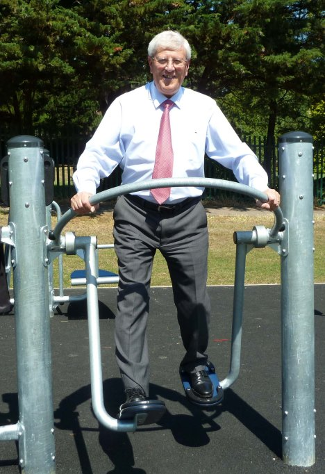 Shadbolt Park got money towards a new outdoor gym