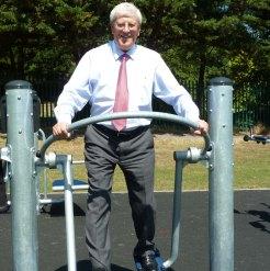 David Hodge at Shadbolt Park gym