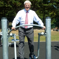 David Hodge at Shadbolt Park gym