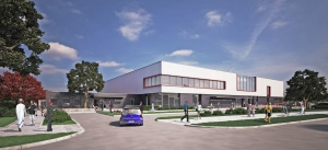 Leisure centre artist's impression updated