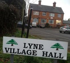 Lyne Village Hall won cash to improve facilities