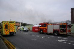 Surrey Fire and Rescue Service at the scene of a fire StainesImage courtesy of FireSnapper999