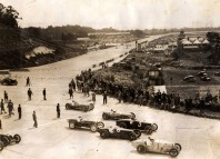 Start of the British First Grand Prix Brooklands 1926. D3704_25