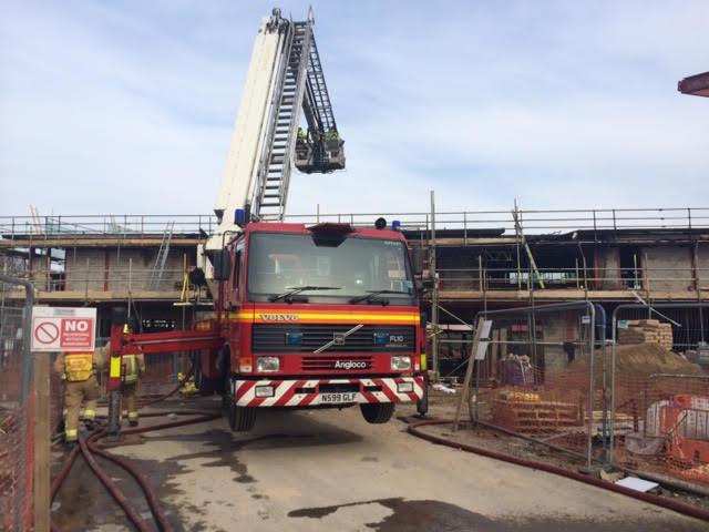 Weybridge fire 1