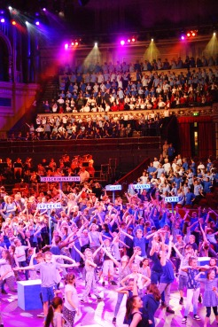 Singers at the Royal Albert Hall