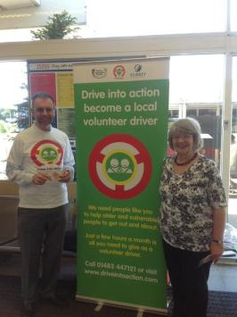 Surrey Community Action volunteer drivers
