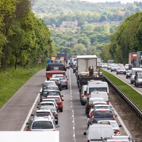 Surrey has slowest rush hour roads of any county incountry