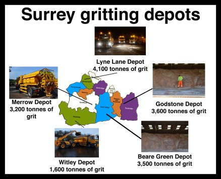 New gritting depots
