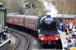 Crossrail 2 call as Flying Scotsman due  to head throughSurrey