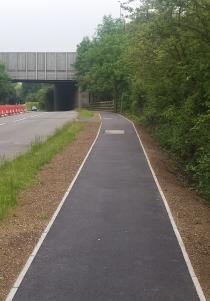 Woodlands Road after