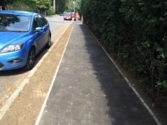 Ellesmere Road after Pavement Horizon work