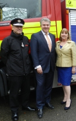 ROUND UP: MP pays Surrey fire service a visit; New community hub for Caterham Valley Library