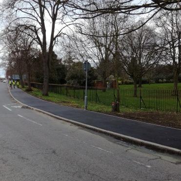 Kingston Road, Ashford, after