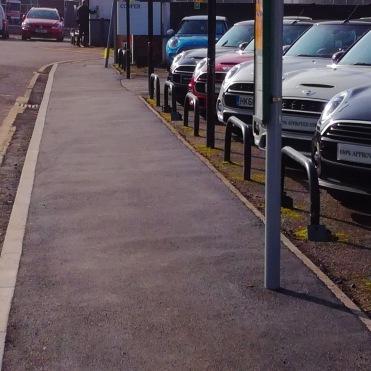 Station Road, Cobham, after