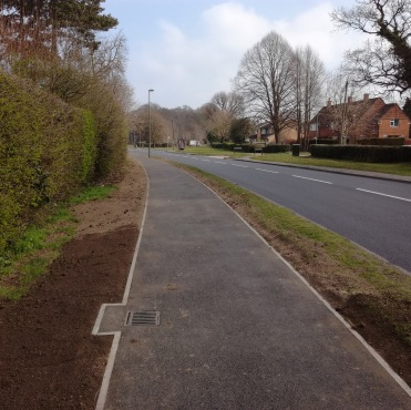 Woodhatch Road, Reigate, after