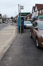 Laleham Road, Shepperton, after