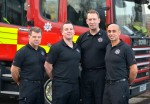Firefighters receive ambulance award for saving man's life