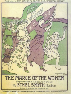 Image 6. Ethel Smyth 'The March of the Women' poster 9180
