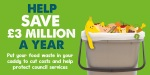 Recycling food waste will help save £3million-a-year