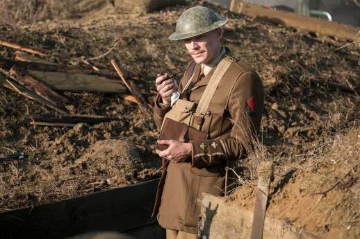Paul Bettany plays Lt Osborne in the new Journey's End film