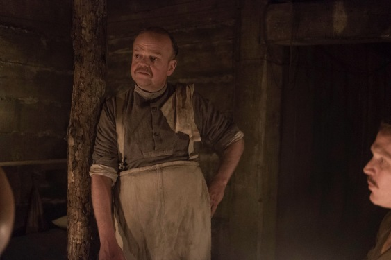Toby Jones plays Mason in the new Journey's End film