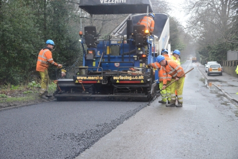 VIDEO: Latest news about work taking place on Surrey's roads with Tina Thorburn