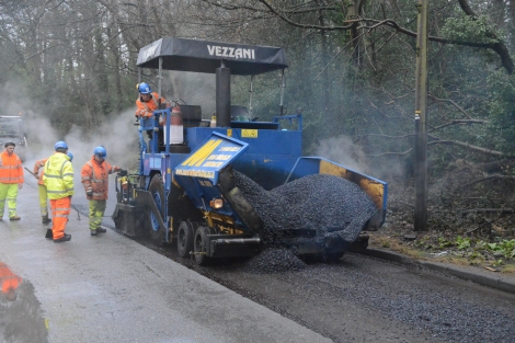 VIDEO: Tina Thorburn rounds up the latest work taking place on Surrey'sroads