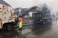 Stoughton Road work in Guildford