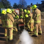 VIDEO: Behind the scenes as new fire service recruits train to keep peoplesafe