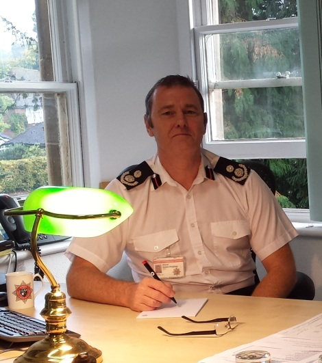 Steve Owen-Hughes appointed Surrey's Chief FireOfficer