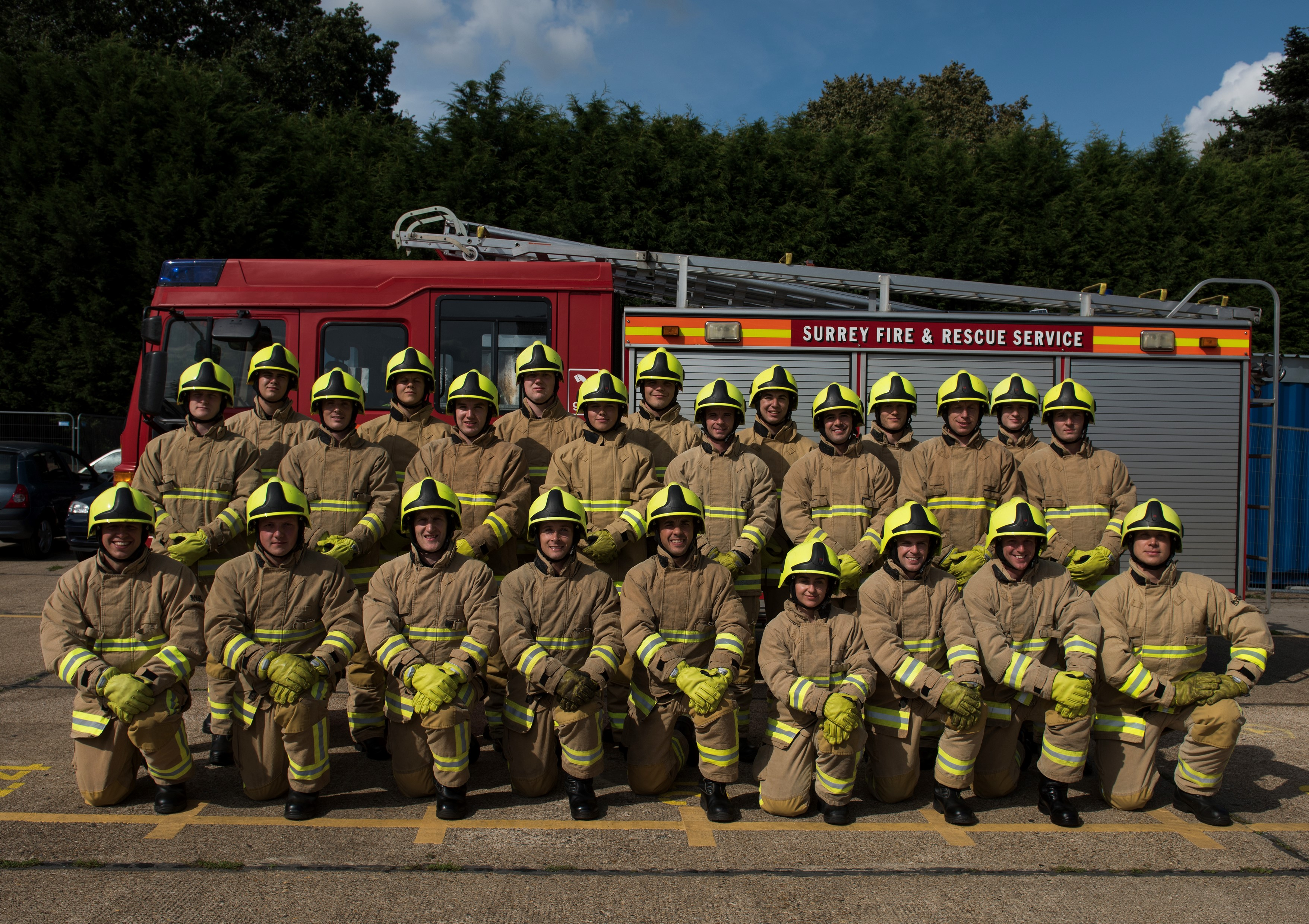 New firefighters for Surrey | Surrey News