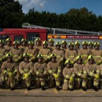 New firefighters for Surrey