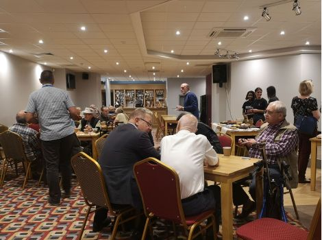 VIDEO: Veterans get together at new drop-inevent