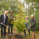 VIDEO: First of 1.2 million new trees for Surrey planted