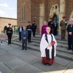 Flag raising ceremony to mark Armed Forces Week2020