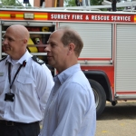 Royal guest visits team at the heart of COVID-19 emergencyresponse