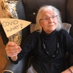 Care home residents celebrate getting Covid-19vaccinations