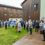 Royal guests praise public sector staff at the core of Surrey's Covid-19response