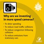 <strong>Investment in average speed cameras to tackle resident concerns</strong>