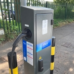 <strong>Electric vehicle charging points trial begins in Farnham, Farncombe and Haslemere</strong>